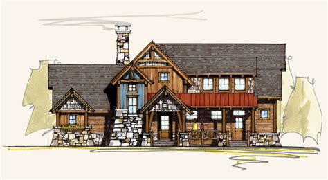 bitterroot rustic home designs rustic house plans