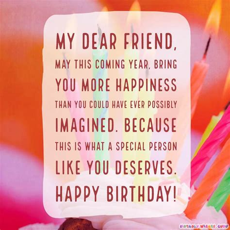 birthday wishes for someone special happy birthday wishes for someone special in your