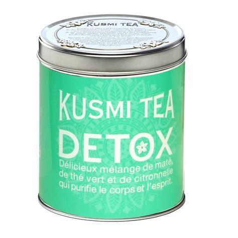 Lemongrass Green Tea Detox Blend by Clever Storage Detox With Kusmi Tea