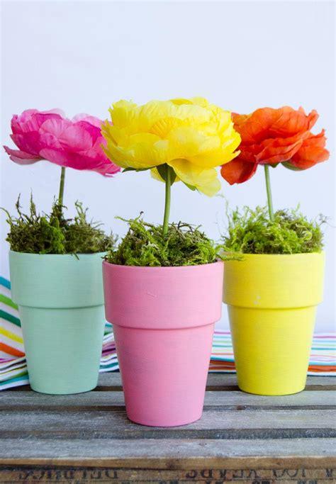 flower pot crafts flower pot craft centerpiece the day