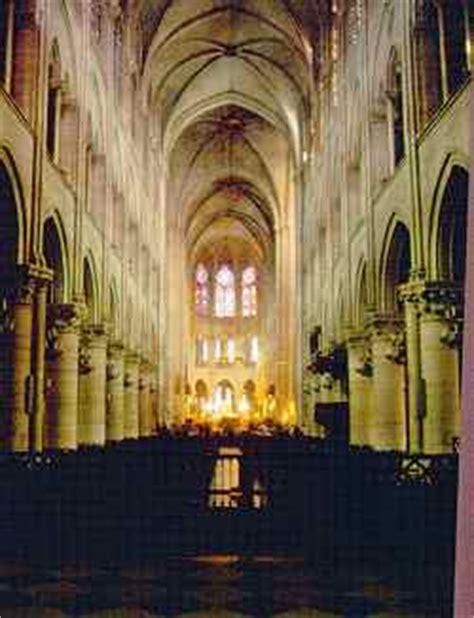 notre dame innen kirchbau de gotik in frankreich ca 1200 1500