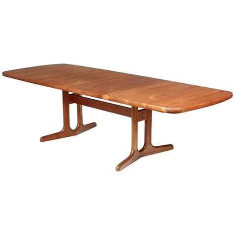 Teak Dining Room Tables Teak Dining Room Table 1970s For Sale At 1stdibs