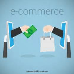 e commerce concept vector free download