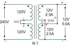 resistor in series with transformer primary winding transformer and multicoil transformers