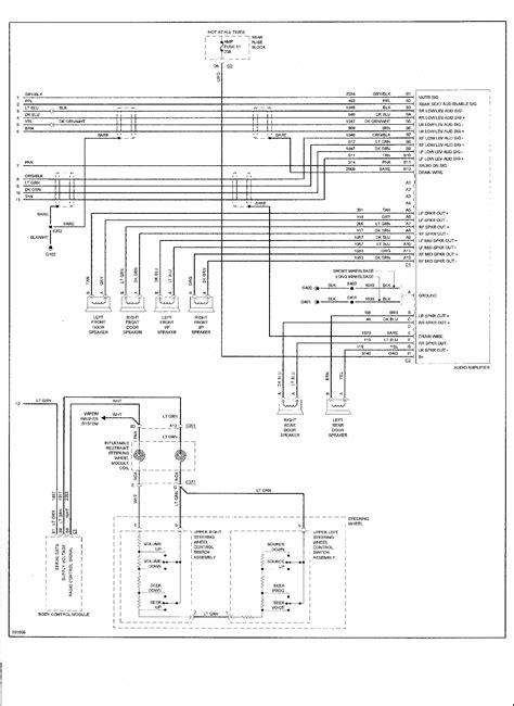 wiring diagram for 2005 chevy trailblazer wiring
