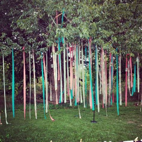 outdoor tree decorations decorating a pretty outdoor wedding lovely chaos