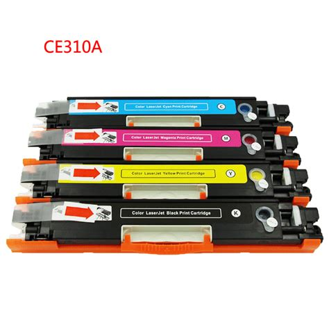 Toner Hp Laserjet Cp1025 Color for ce310 ce310a 313a 126a 126 for color toner cartridge