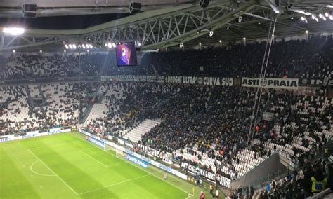 panchine juventus stadium juve inter ecco perch 233 c era una parte di curva