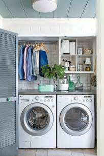 Laundry In Garage Designs 25 best ideas about small laundry rooms on pinterest