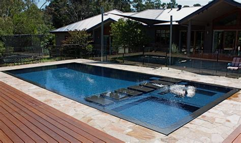 Wall Tile Ideas For Small Bathrooms wet deck beauty modern pool melbourne by minke pools