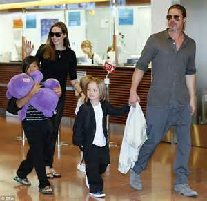 Shiloh Pitt Has A 17000 Pacifier by Furious She Can T Take Children Out Of