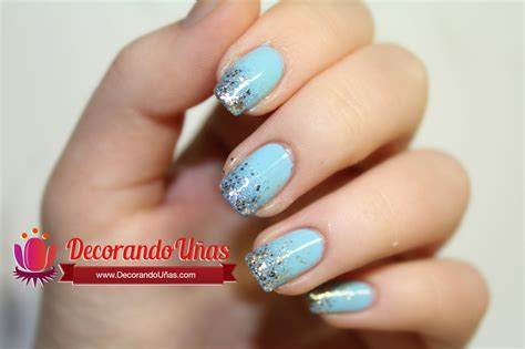 imagenes de uñas pintadas con esponja u 241 as decoradas con glitter o brillos y en degradado youtube