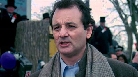 groundhog day ending bill murray quot groundhog day quot winter prediction hd