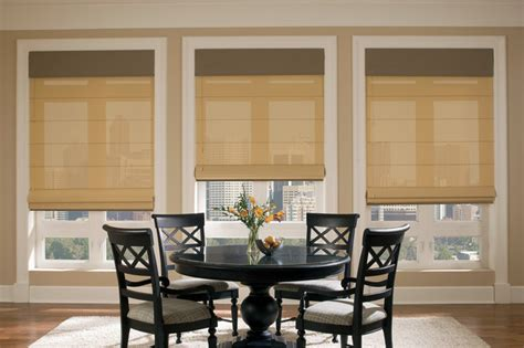 Roller Shades For Windows Designs Douglas Designer Roller Shade Traditional Dining Room Other Metro By