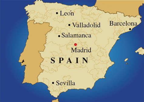 Map If Spain by Population Map Of Spain Images