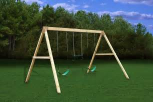 Wooden Swing Sets Do It Yourself Wooden Swing Sets