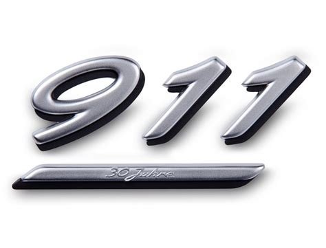 Porsche 911 Logo by Lettering And Protectors Body 964 Entire Production