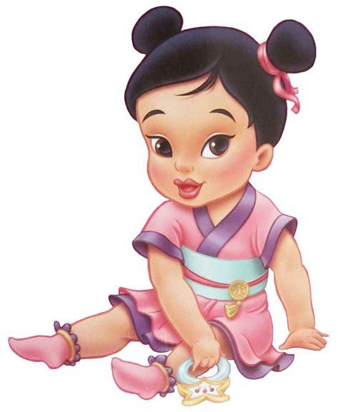 baby princess disney babies images baby mulan