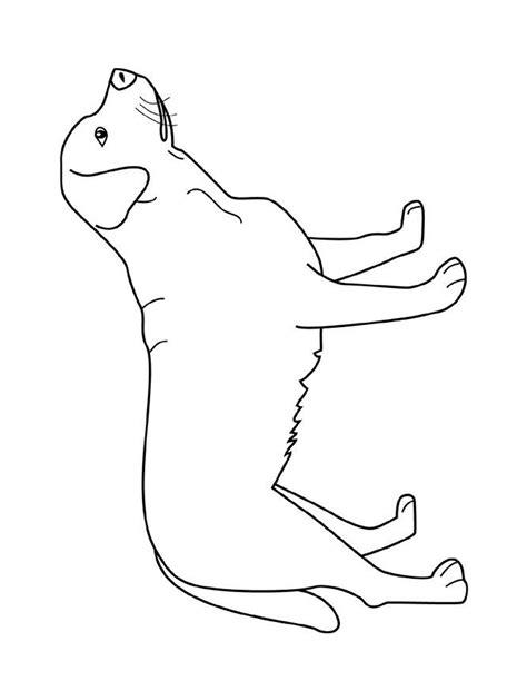 imagenes para dibujar un perro dibujos para colorear un perro labrador es hellokids com