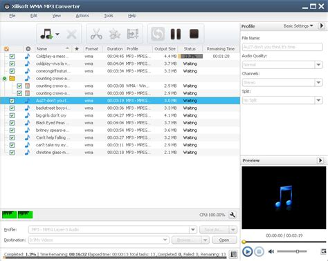 converter mp3 online xilisoft wma mp3 converter convert other audios to wma mp3