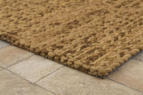 knitted rug buy knit melange expresso 170x240cm the real rug company