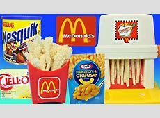 WEIRD McDonalds FOOD! Happy Meal Magic French Fry Maker ... Now And Later Candy Flavors