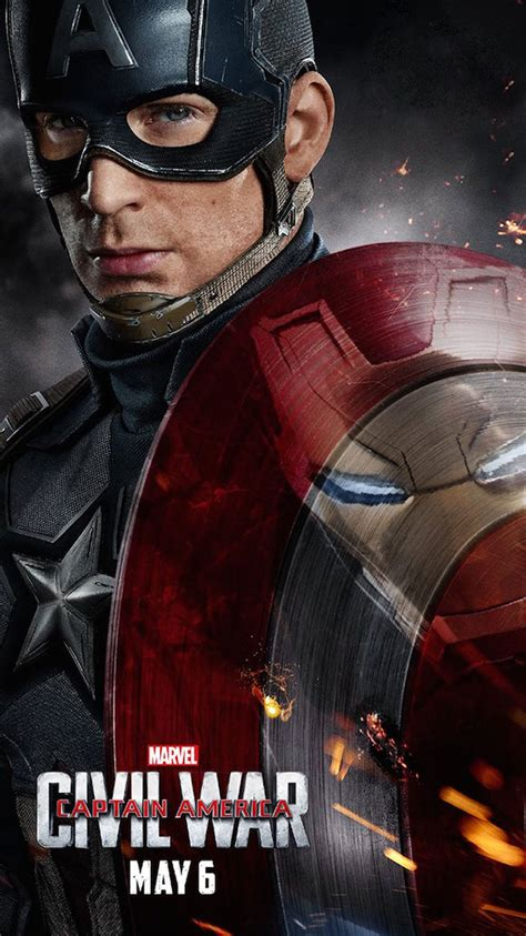 captain america ipod wallpaper marvel s captain america civil war 2016 iphone