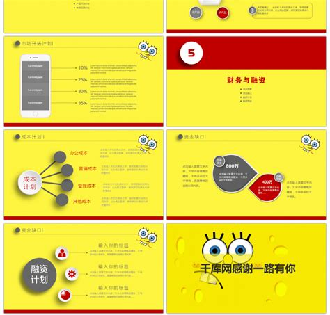 spongebob powerpoint template awesome animated spongebob squarepants