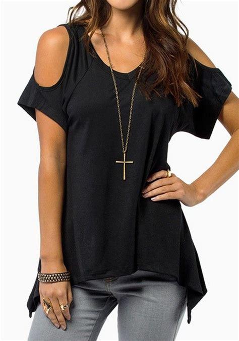 D F Aneurysm T Shirt Black black plain shoulder sleeve wrap casual dacron t shirt sleeves wraps and shorts