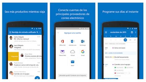 outlook calendar android outlook ya con soporte para wunderlist y evernote mediante calendar apps