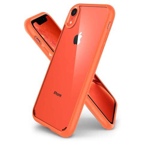 spigen ultra hybrid iphone xr case coral iclarified