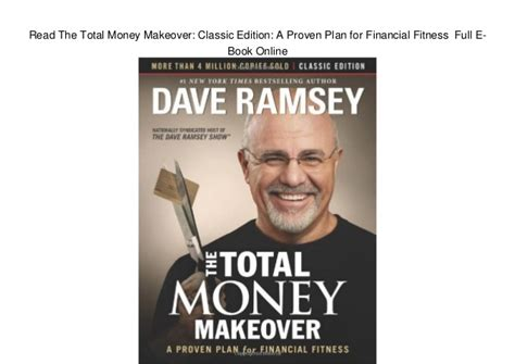 the total money makeover workbook classic edition the essential companion for applying the book s principles books read the total money makeover classic edition a proven