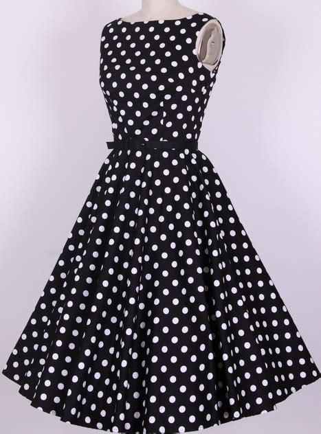 Longdress Polka free shipping cotton fabric polka dot black wihte