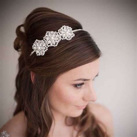 Wedding Hair Accessories Not On The High by Cecily Pearl And Wedding Headband By Chez Bec