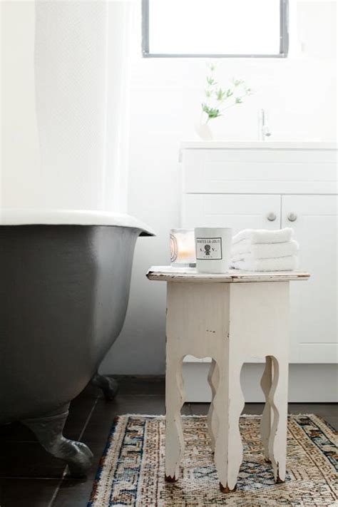 Bathroom Accent Table Black Claw Foot Tug Design Ideas