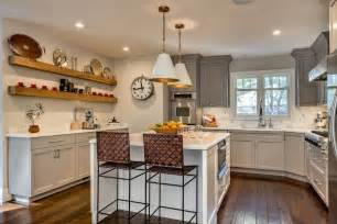 small u shaped kitchen with island u shaped kitchen with small island dimensions and gray cabinet also using wall shelves