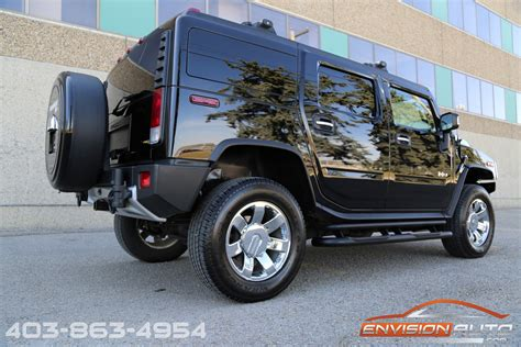 luxury hummer 2009 h2 hummer suv luxury package air ride suspension
