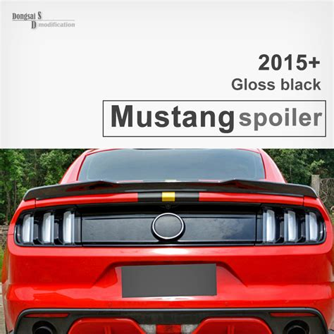 wing ford ford carbon fiber rear trunk spoiler wings for ford