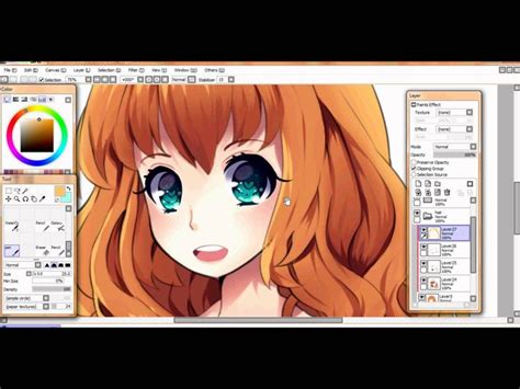 paint tool sai drawing hair 126 best images about paint tool sai 2nd board on