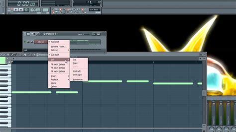 tutorial piano roll fl studio fl studio 10 piano roll tutorial youtube
