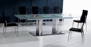 Glass Table Dining Room by Dining Room Glass Tables Best Dining Room Furniture Sets