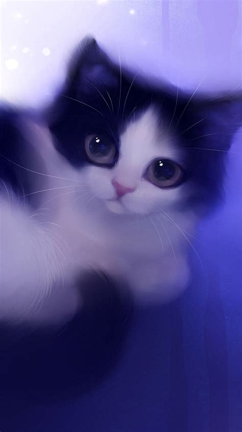 cat cute girly wallpapers  iphone wallpaper