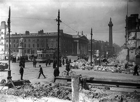 Stephens City Post Office by Scars Of The Easter Rising You Can Still See On Dublin Streets