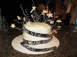 new year cake decorations the baker new years cake
