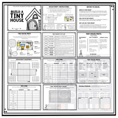 house projects free build a tiny house project based learning activity a pbl