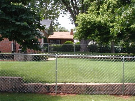 proof chain link fence digging chain link fence fences