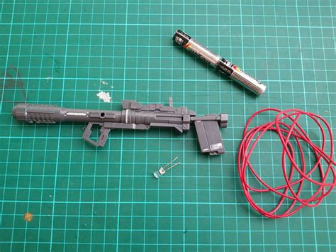 Tuesday Solder Tembak Solder Pistol Alat Solder Tembakan Solder Iron tutorial sederhana pasang led di bazooka gundam gundam tricks