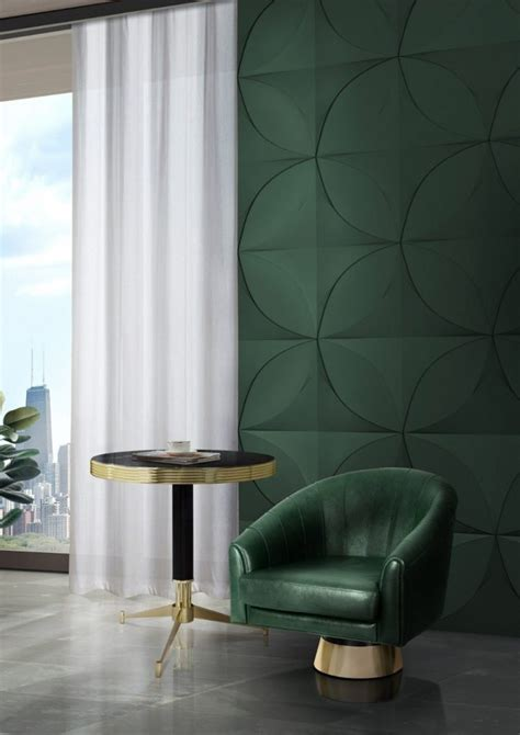 color trends green home decor ideas   mid