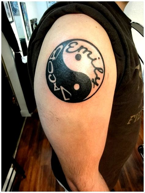 yin yang tattoo for men 40 amazing yin yang designs