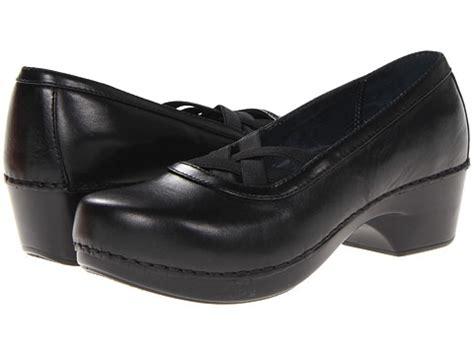 clearance dansko womens tilda slip on casual shoes black